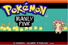 Pokemon Manly Pink Screenshot