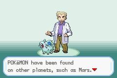 Pokemon Mars Screenshot