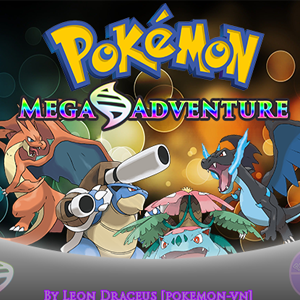 Pokemon Mega Adventure Box Art
