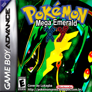 Pokemon Mega Emerald X & Y Edition Box Art