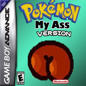 Pokemon My Ass Box Art