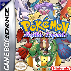 Pokemon Mythic Legends Box Art