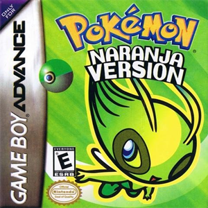 Pokemon Naranja Box Art