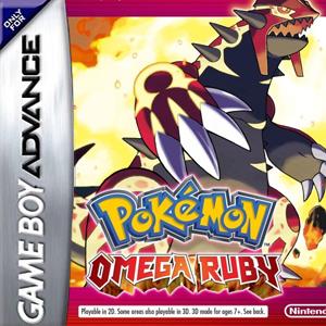 Pokemon Omega Ruby (GBA) Box Art