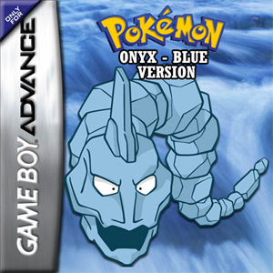 Pokemon Onyx Blue Box Art