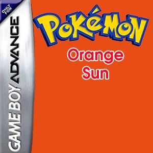 Pokemon Orange Sun Box Art