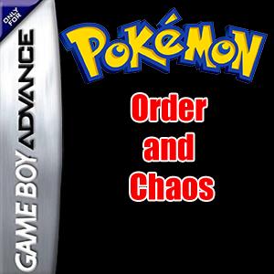 Pokemon Order and Chaos Box Art