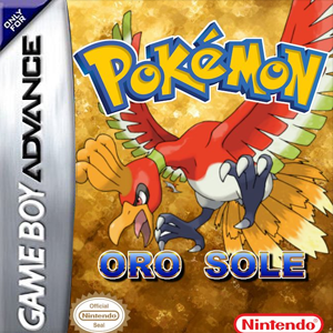 Pokemon Oro Sole Box Art