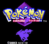 Pokemon Pikachu Edition Screenshot