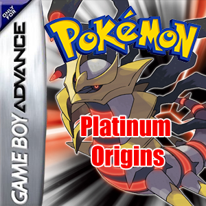 Pokemon Platinum Origins Box Art