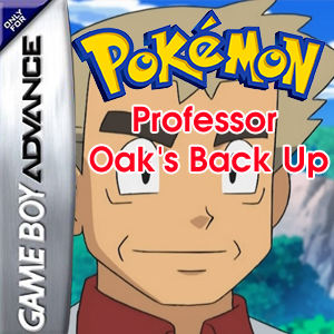 Pokemon Professor Oak's Back Up Box Art