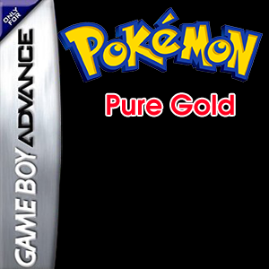 Pokemon Pure Gold Box Art
