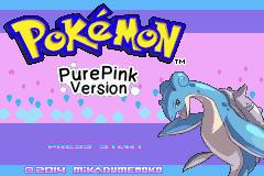 Pokemon PurePink Screenshot