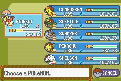 Pokemon Rebirth Screenshot