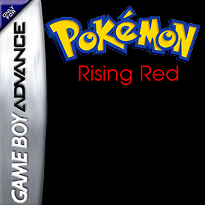 Pokemon Rising Red Box Art