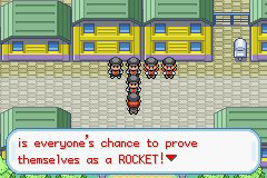 Pokemon Rocket Red Screenshot
