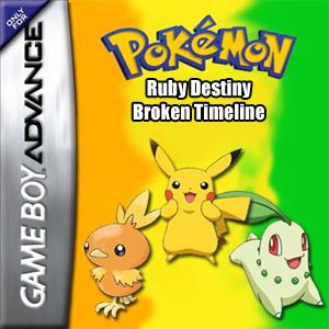 Pokemon Ruby Destiny - Broken Timeline Box Art