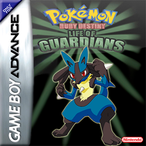 Pokemon Ruby Destiny - Life of Guardians Box Art