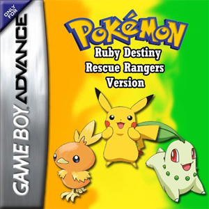 Pokemon Ruby Destiny - Rescue Rangers Box Art