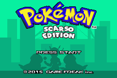 Pokemon Scarso Edition Screenshot