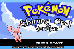 Pokemon Shining Opal Screenshot