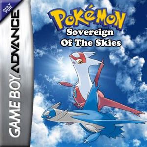 Pokemon Sovereign of the Skies Box Art