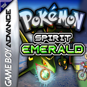 Pokemon Spirit Emerald Box Art