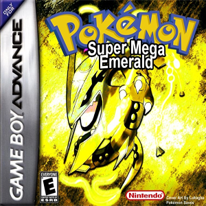 Pokemon Super Mega Emerald Box Art