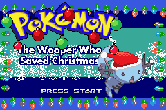 Pokemon The Wooper Who Saved Christmas Screenshot