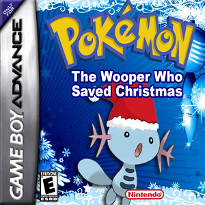 Pokemon The Wooper Who Saved Christmas Box Art
