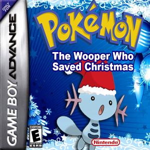Pokemon The Wooper Who Saved Christmas Box Art