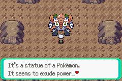 Pokemon Theta Emerald Screenshot