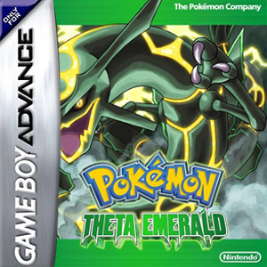 Pokemon Theta Emerald Box Art