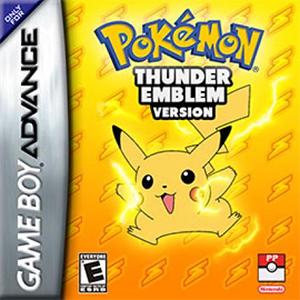 Pokemon Thunder Emblem Box Art