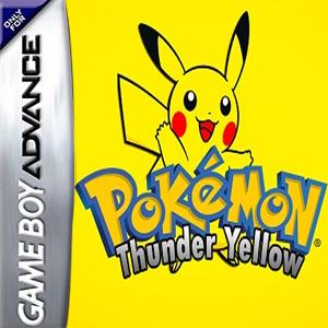 Pokemon Thunder Yellow Box Art