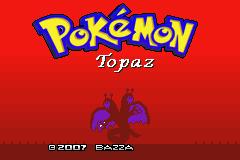 Pokemon Topaz Screenshot