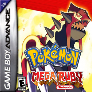 Pokemon Ultimate Mega Ruby Box Art