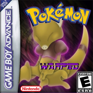 Pokemon Warped Box Art