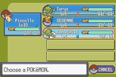 Pokemon X & Y (GBA) Screenshot