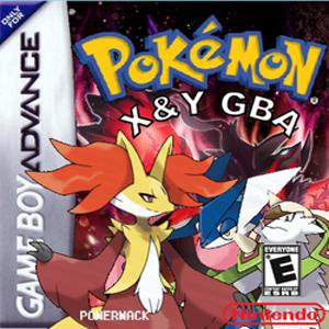 Pokemon X & Y (GBA) Box Art