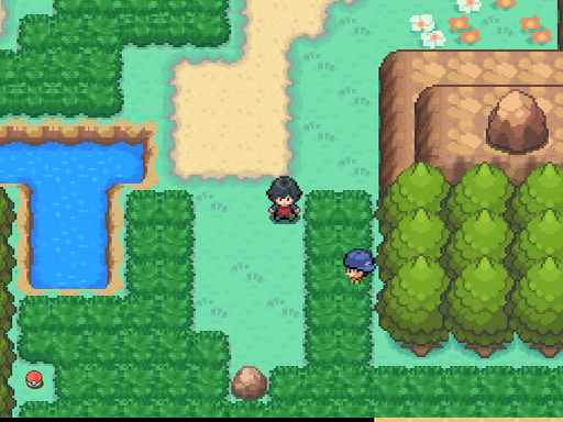 Pokemon Ampersand Version Screenshot