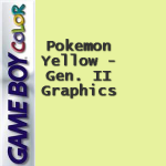 Pokemon Yellow – Gen. II Graphics