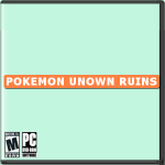 Pokemon Unown Ruins