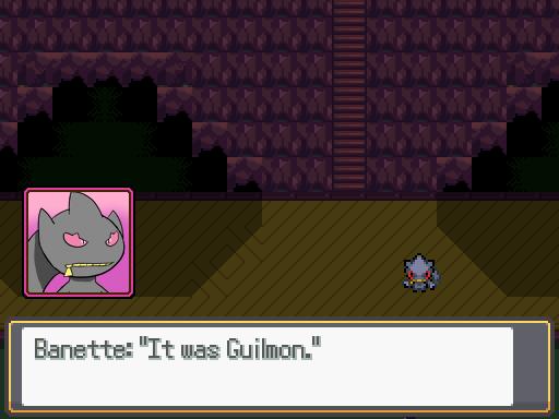 Banette & Guilmon Screenshot