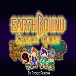 Earthbound: Capsule Quest Box Art
