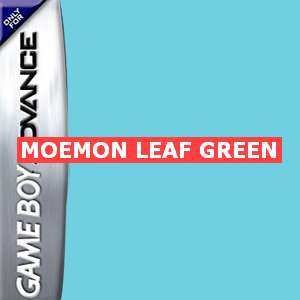 Moemon Leaf Green Box Art