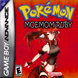 Moemon Revival Ruby Box Art