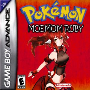 Moemon Revival Ruby Box Art