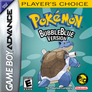 Pokemon BubbleBlue Box Art
