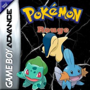 Pokemon Rouge Box Art